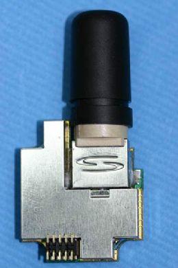 GPS智慧型天線, 天線整合接收器, Sarantel 柱狀型天線